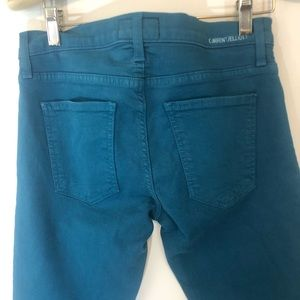 Current/Elliott Jeans - Current/Elliott ankle skinny jeans in Blue Canteen